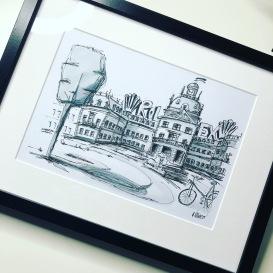 """Serie Schwarz: """"Schloss Philippsruhe"""""""