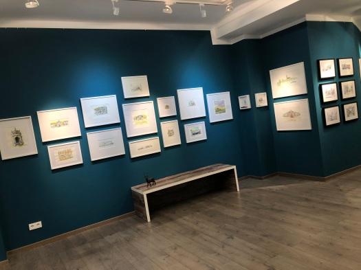 Ausstellung - Galerie Arp (Hanau) - Dezember 2019